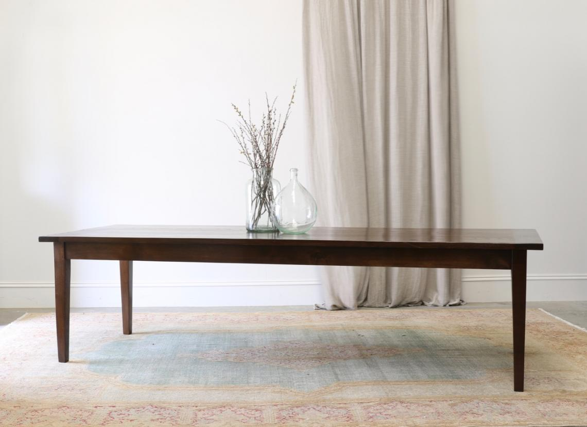 French Dining Table with Tapered Leg // JS Edition