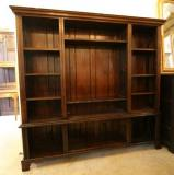 68-50 - Oak Display Cabinet/Bookcase