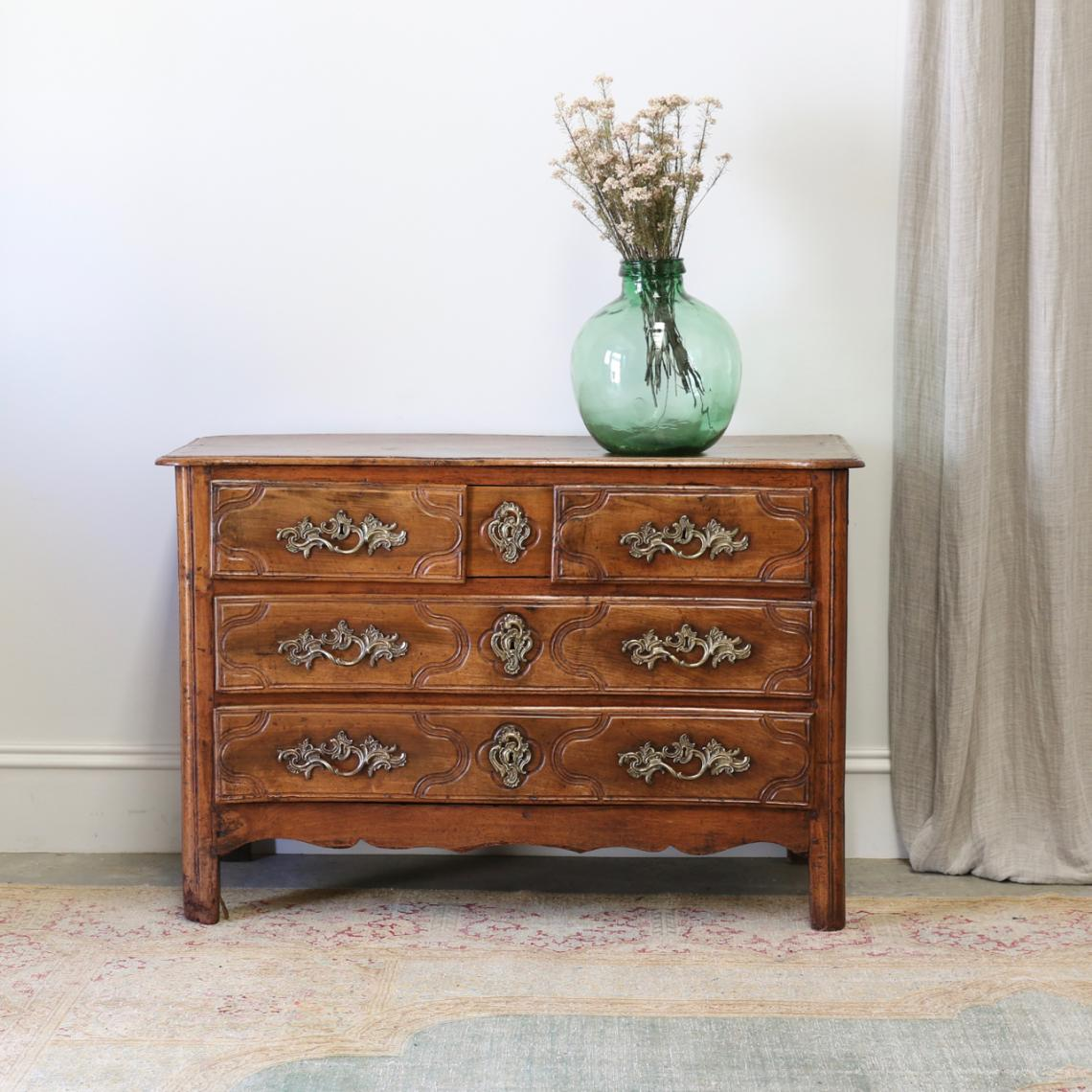 Louis XIV Walnut Commode