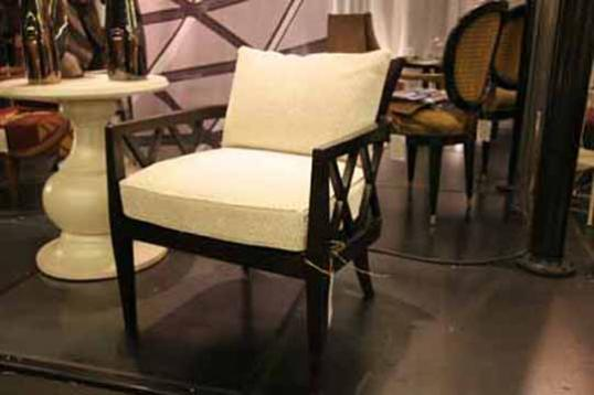French Cross-back Armchair