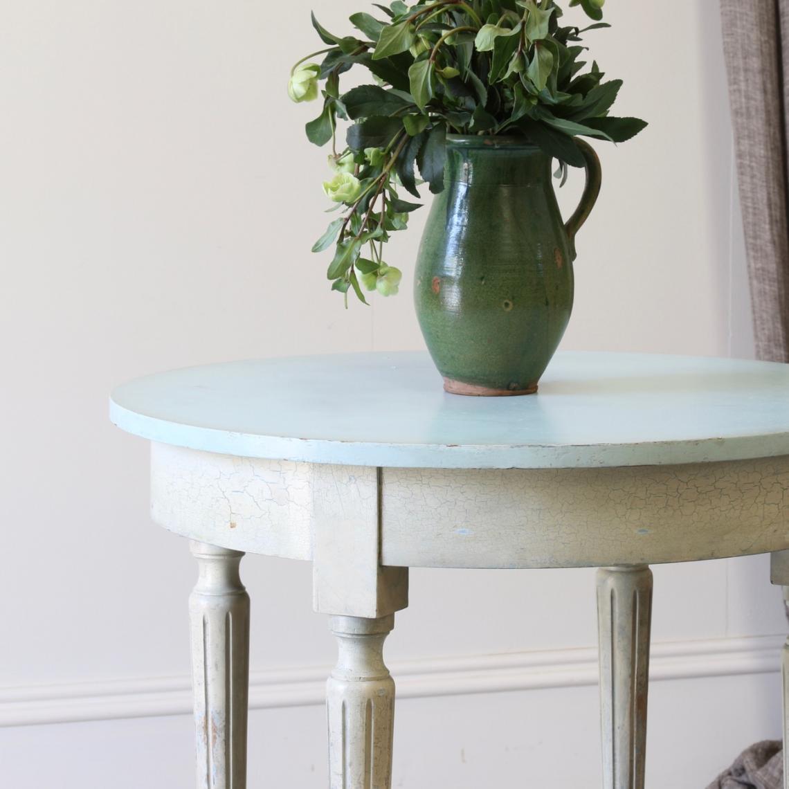 Round Louis XVI Table