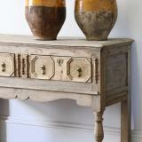 Bleached Jacobean Side Table