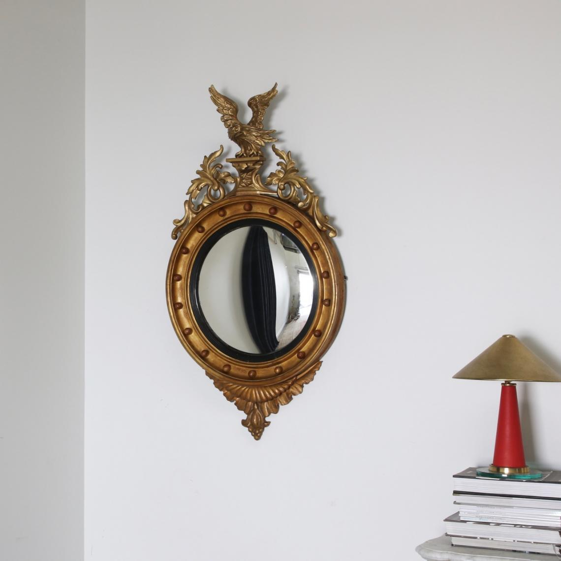 Empire Mirror With Eagle