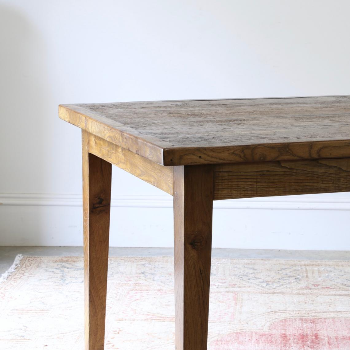 Oak Dining Table 2.7 metres