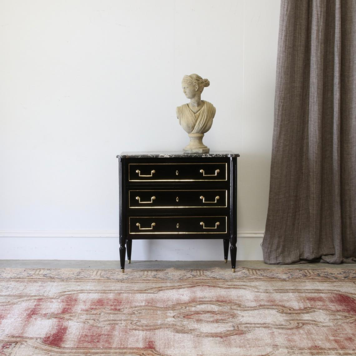 118-41 - Black Directoire Commode
