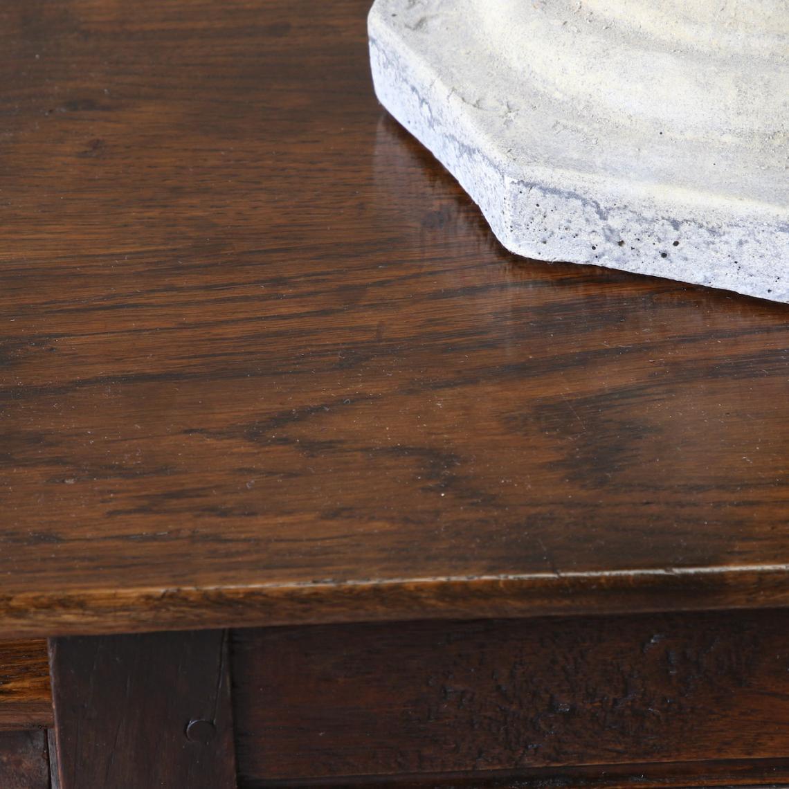 Set of Three Oak Tables