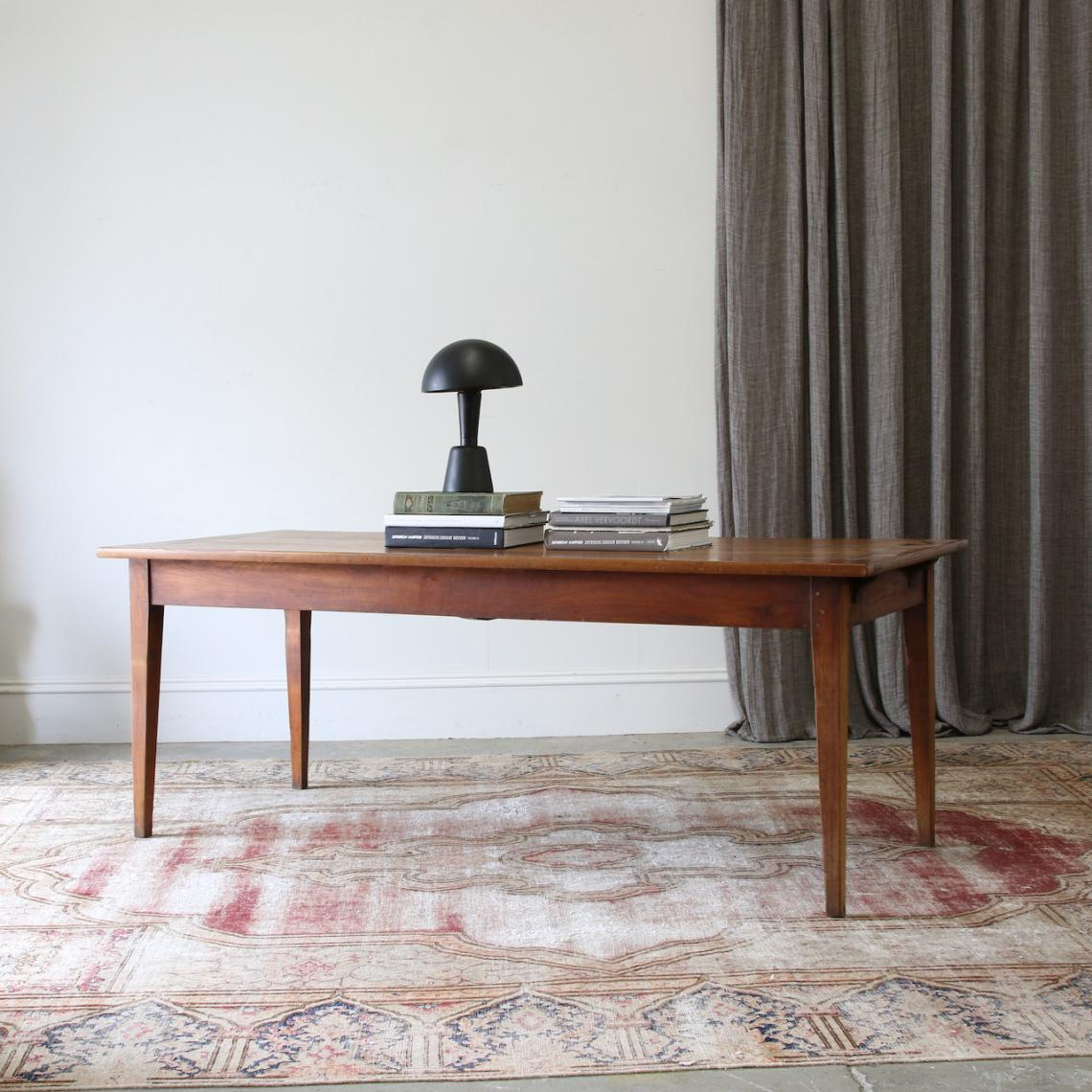 A French Provincial Cherrywood Dining Table