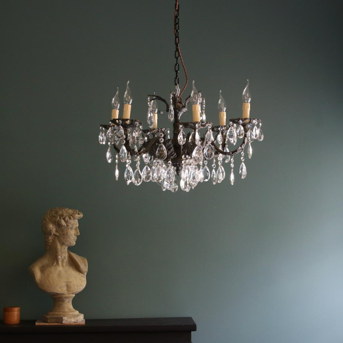 Six Light Chandelier