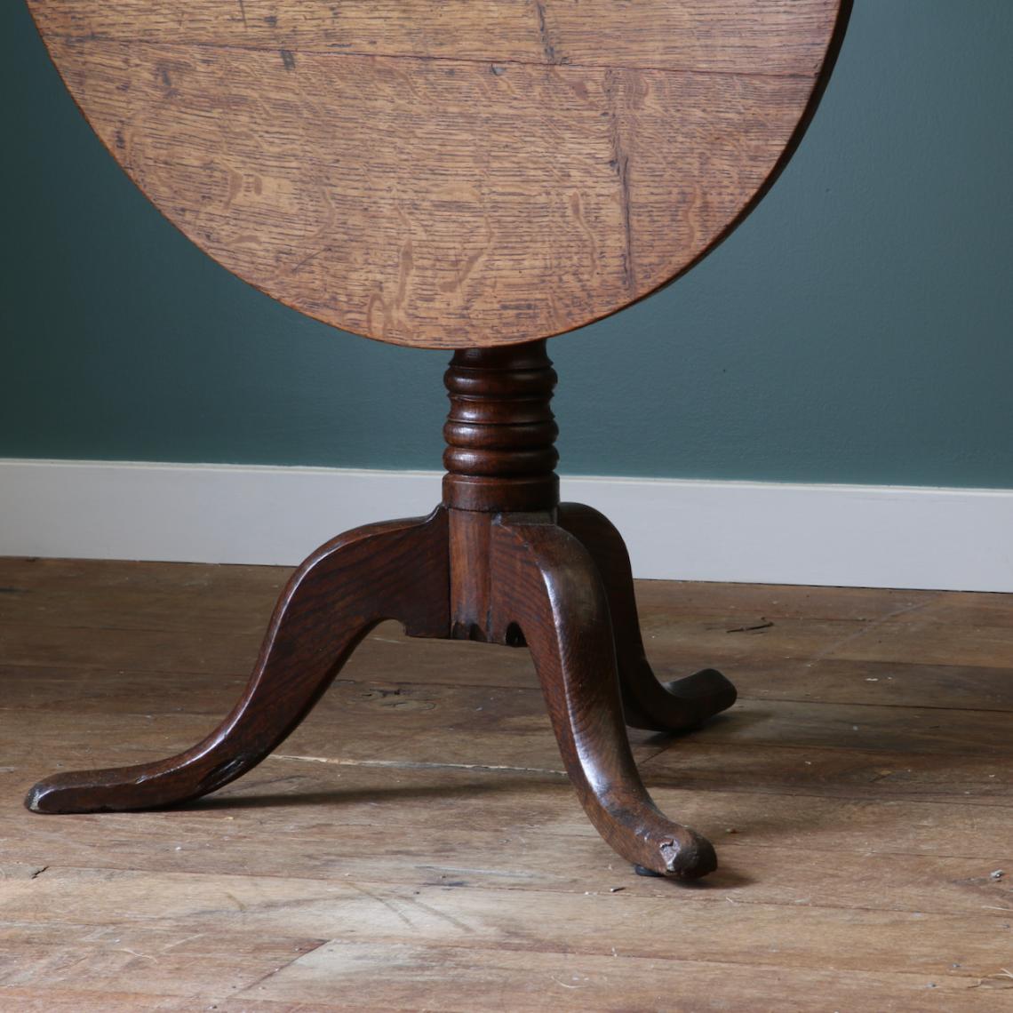 An English Oak Wine Table