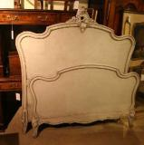 67-35 - 19th century Painted French Bed
