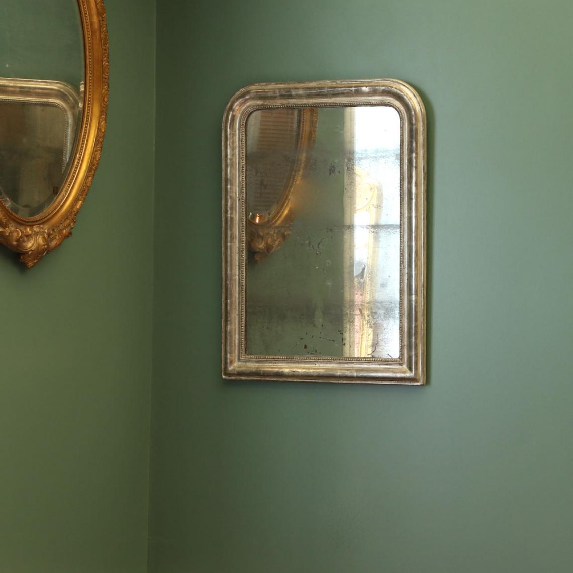 A Stunning Louis Philippe Silver Mirror