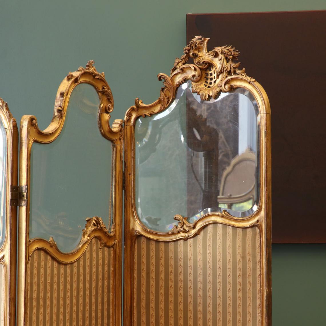Louis XV French Folding Screen