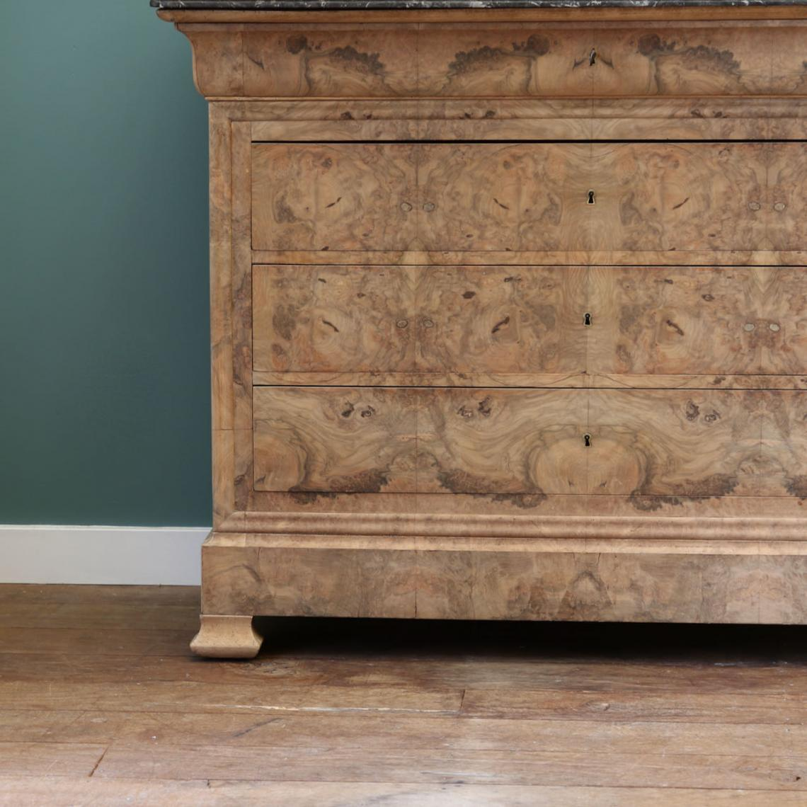 Bleached Louis Philippe Commode