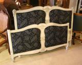69-11 - Antique French Upholstered Bed