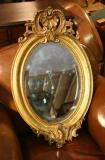 69-14 - Antique Oval Mirror