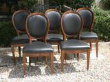 69-31 - Set of Spoonback Dining Chairs