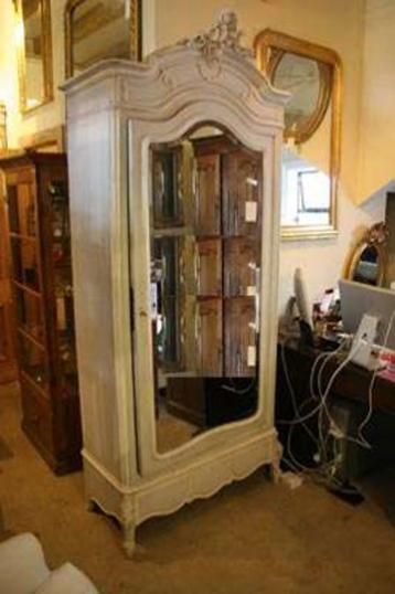 69-32 - Painted Walnut French Armoire