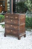 69-71 - Small, period, oak chest of drawers