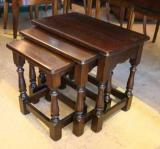 69-74 - A set of English Jointed Stools