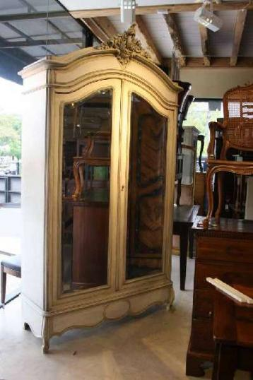 69-77 - A Two Door, 19th Century, Painted Armoire