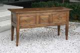 69-89 - 18th Century Cherry Three Drawer Side Table