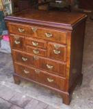 70-05 - Walnut Chest of drawers (Period)