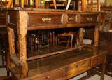 70-37 - Three drawer Antique Side Table