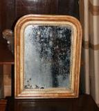 71-18 - Small Arch-topped Louis Philippe Mirror