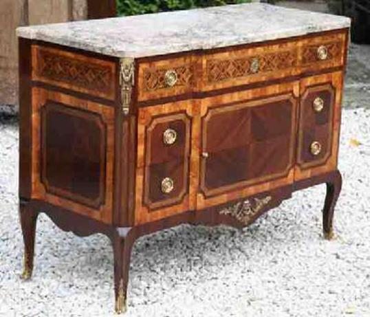 71-28 - Marble-topped Commode